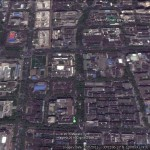 Hangzhou's Tree lined Boulevards from Google Earth