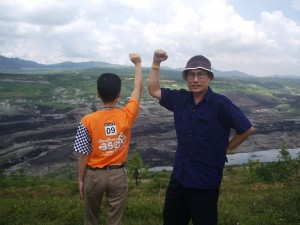 2009 Chiang Mai activists oppose coal power.