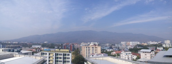 Doi Suthep getting Hazy 14/01/2016